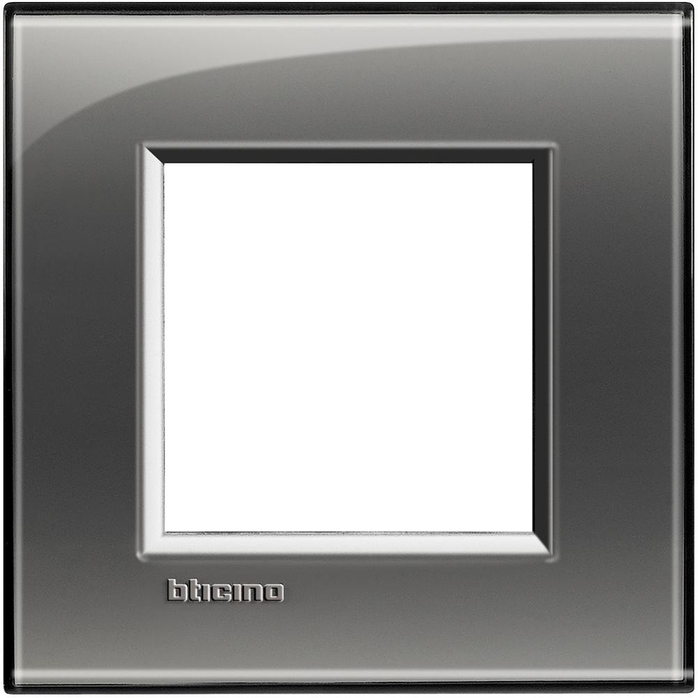 BTICINO - LNA4802KF Рамка 2М London fog правоъгълна Livinglight