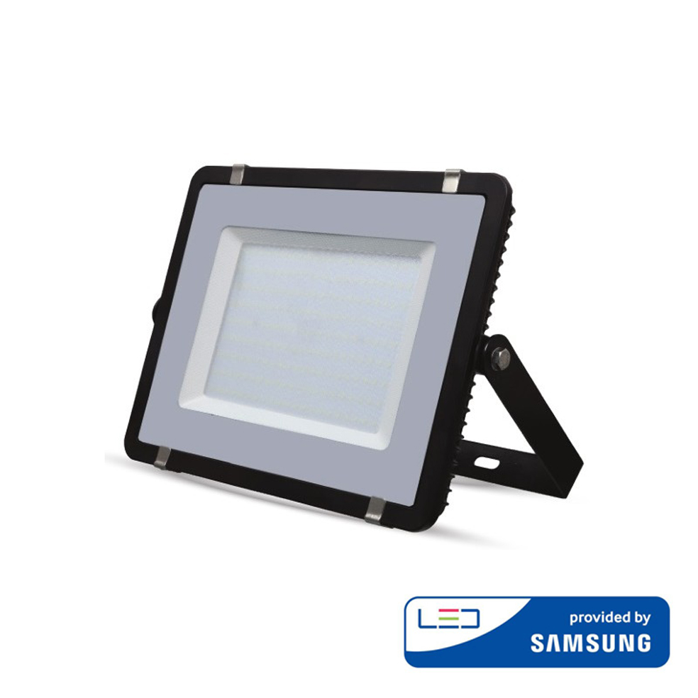V-TAC PRO - 10W LED Floodlight SMD SAMSUNG CHIP Black Body