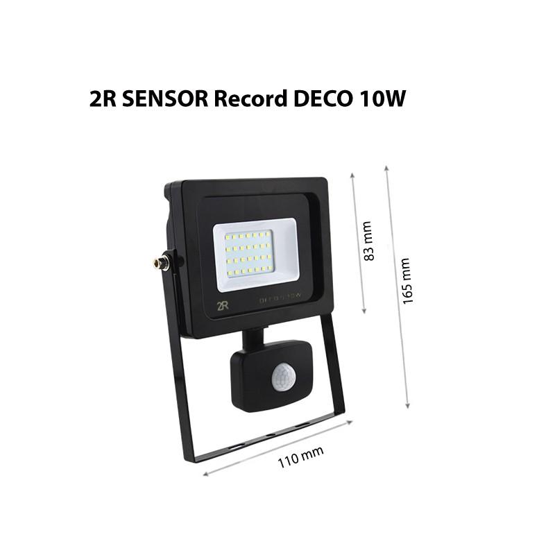 2R - LED SENSOR Record DECO 10W IP65