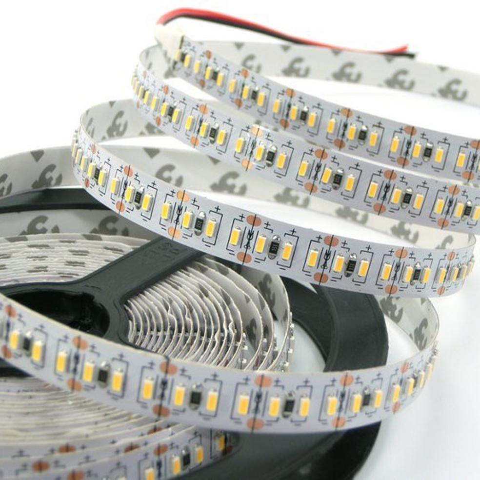 ULTRALUX - LNW3014120WW LED лента SMD 3014, 14.4W/m топло бяла, 12V DC, 120 LEDs/m, 5m, неводоустойчива