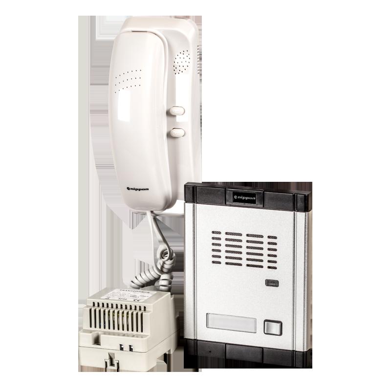 NIPPON - Комплект еднофамилна аудиодомофонна система Nippon WL-06Dd2D