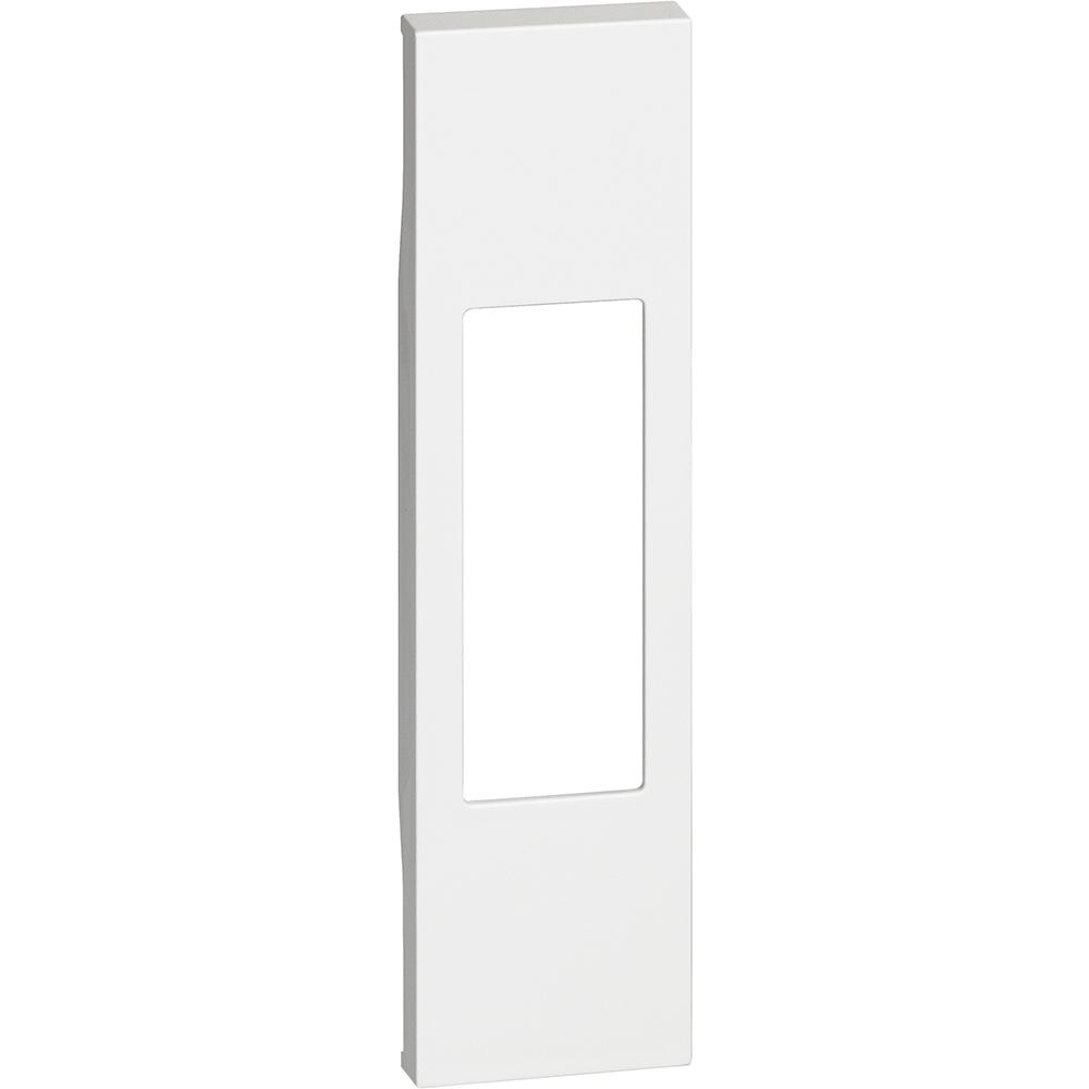 BTICINO - Лицев панел за единични розетки RJ45/LED лампа K4381 1 мод. цвят Бял Living Now Bticino KW07