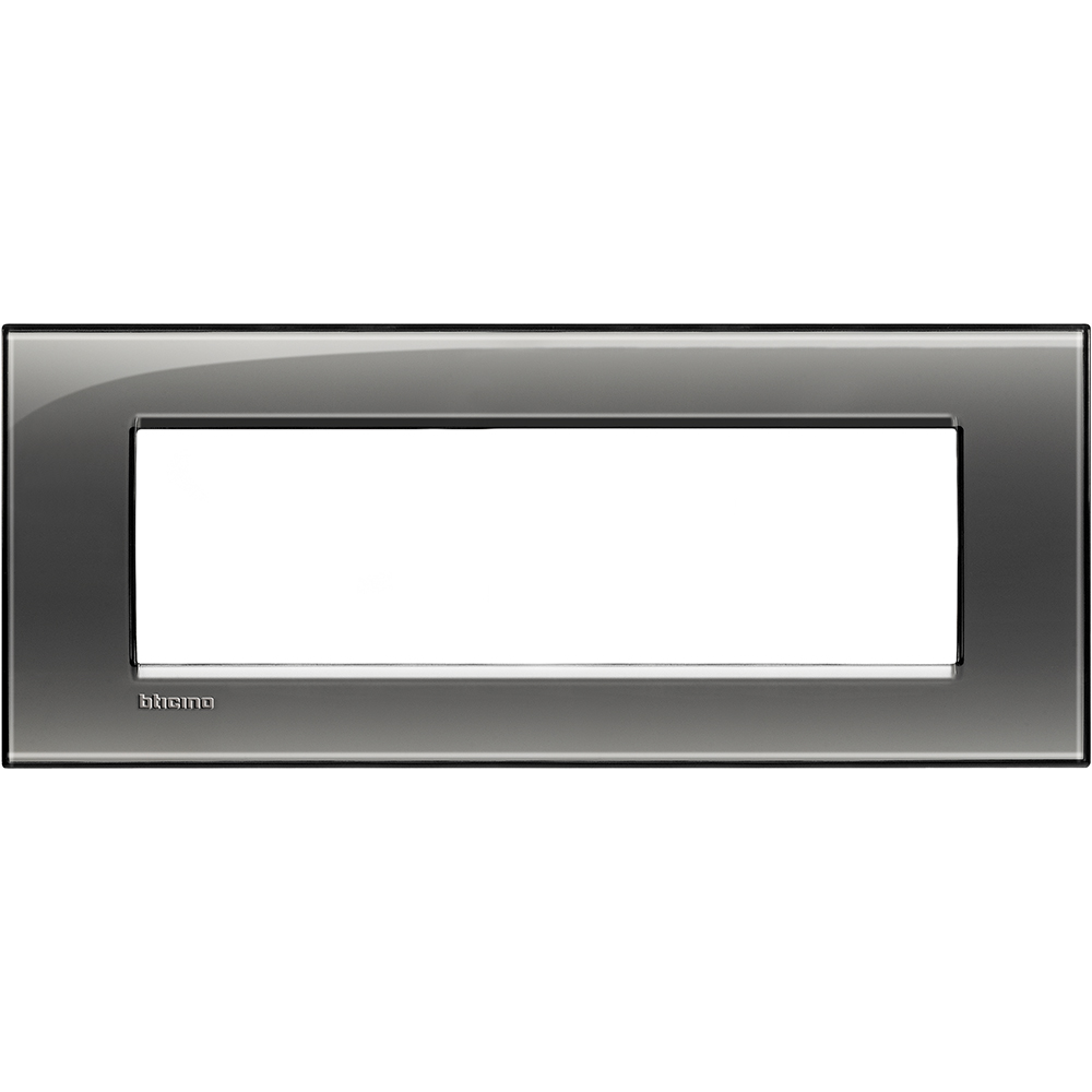 BTICINO - LNA4807KF Рамка 7М London fog правоъгълна Livinglight