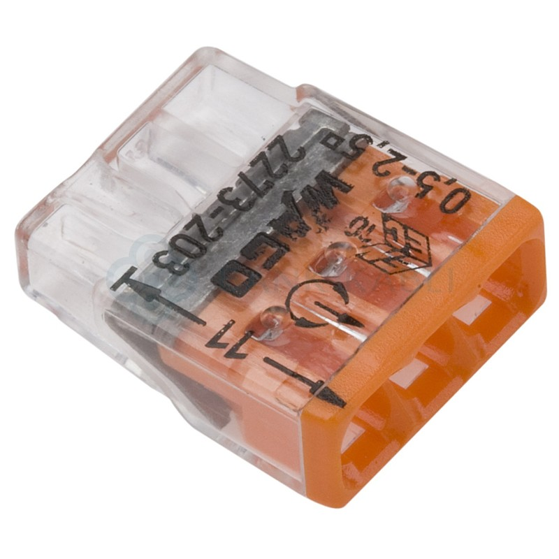 Berühmt WAGO - 2273-203 Pluggable Terminal Block, 3 Ways, 2.5 mm², Clamp WC12