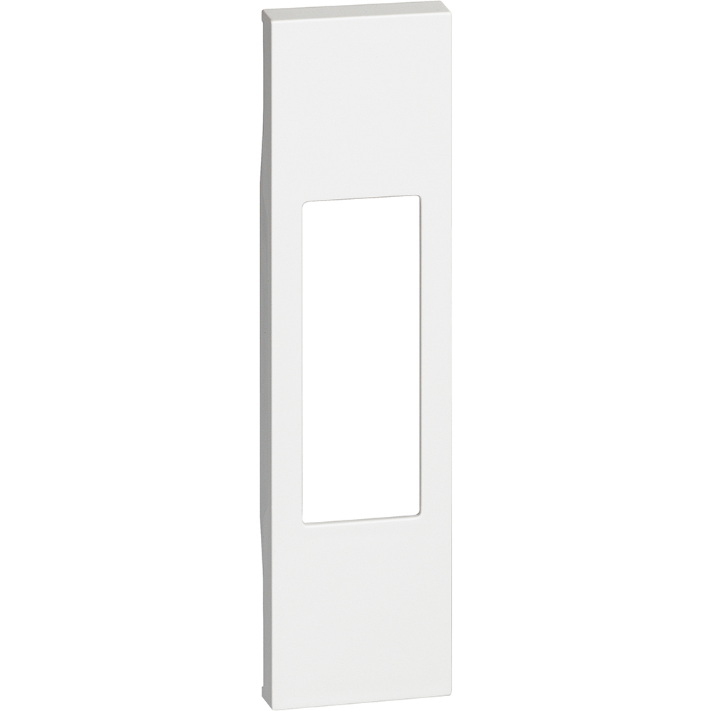 BTICINO - Лицев панел за контакт ИТ.стандарт/Бойлерен ключ, 1 мод. цвят Бял Living Now Bticino KW02