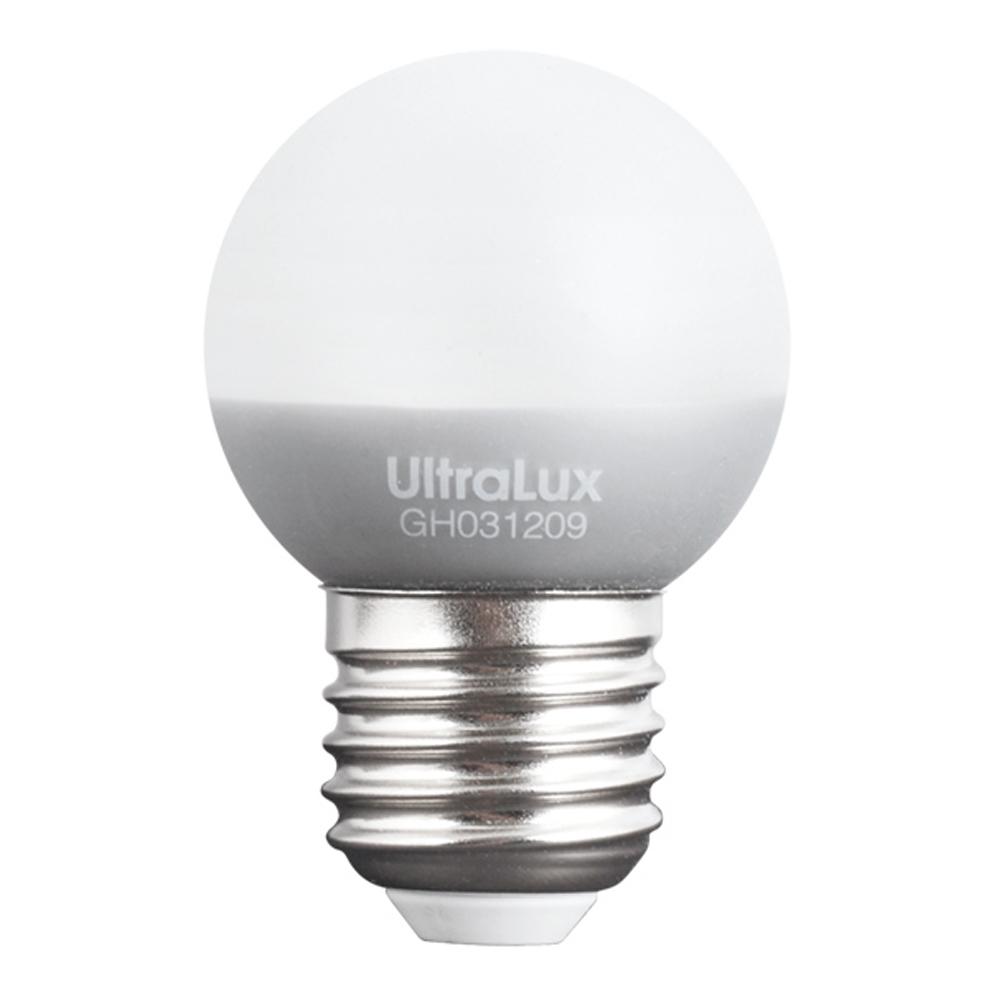 ULTRALUX - LB2E2727 LED топка 2W, E27, 2700K, 220V AC, топла светлина