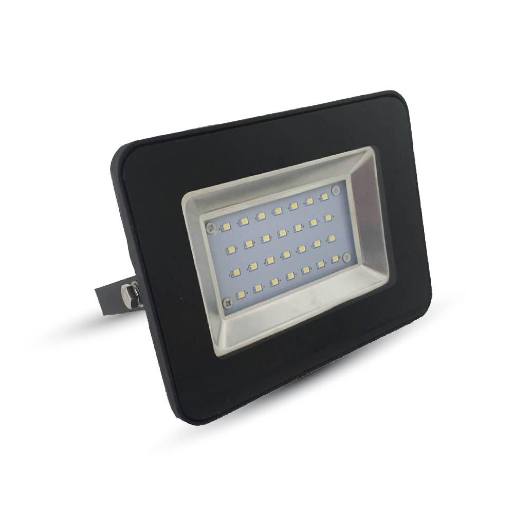V-TAC - 20W LED Прожектор SMD Черно Тяло 3000K SKU: 5878 VT-4621, 4500K-5879, 6000K-5880