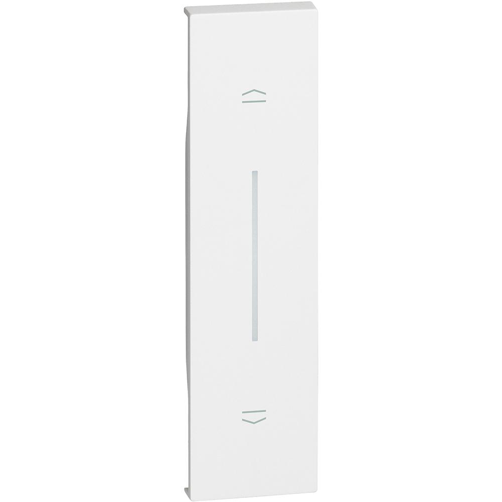 BTICINO - Лицев панел за бутон за щори 1 мод. цвят Бял Living Now Bticino KW05