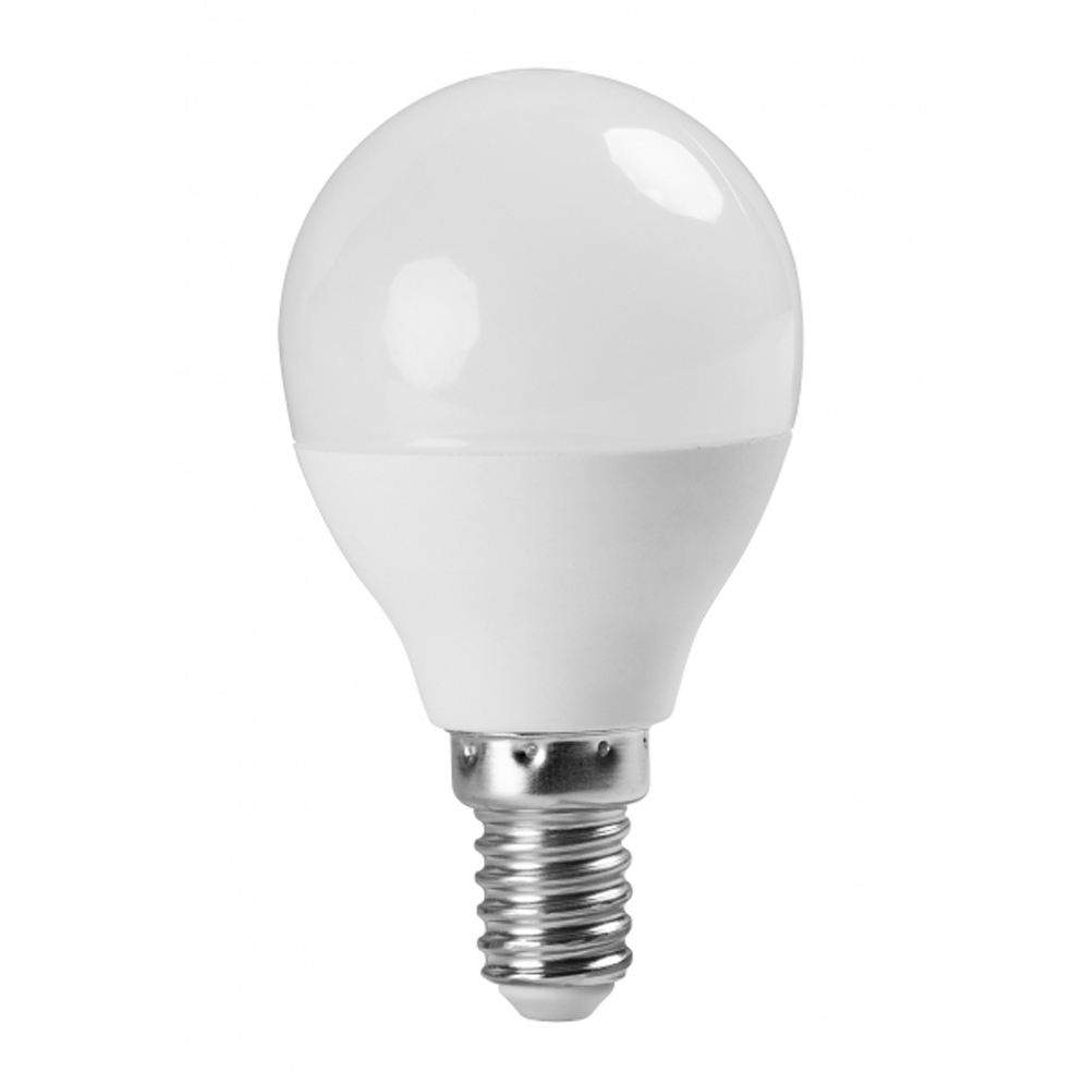 ULTRALUX - LBG51427 LED топка 5W, E14, 2700K, 220V, топла светлина, SMD2835