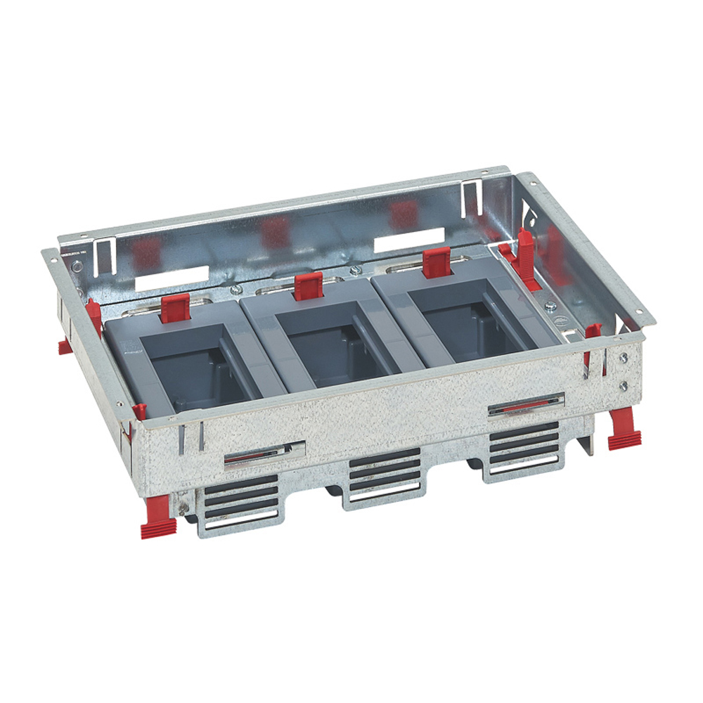 LEGRAND - Основа за подова кутия 12 (3х4) модула за хоризонтален монтаж на механизми 88020