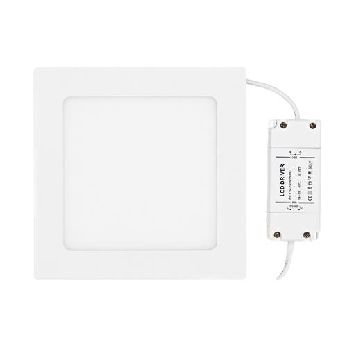 ULTRALUX - LPSB1801227 LED ПАНЕЛ ЗА ВГРАЖДАНЕ, КВАДРАТ, 12W, 2700K, 220V, ТОПЛА СВЕТЛИНА