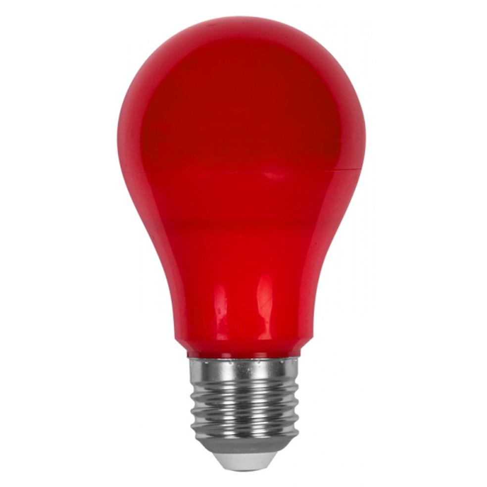 ULTRALUX - LB627R LED крушка 6W, E27, червена светлина, 220V AC, SMD 2835