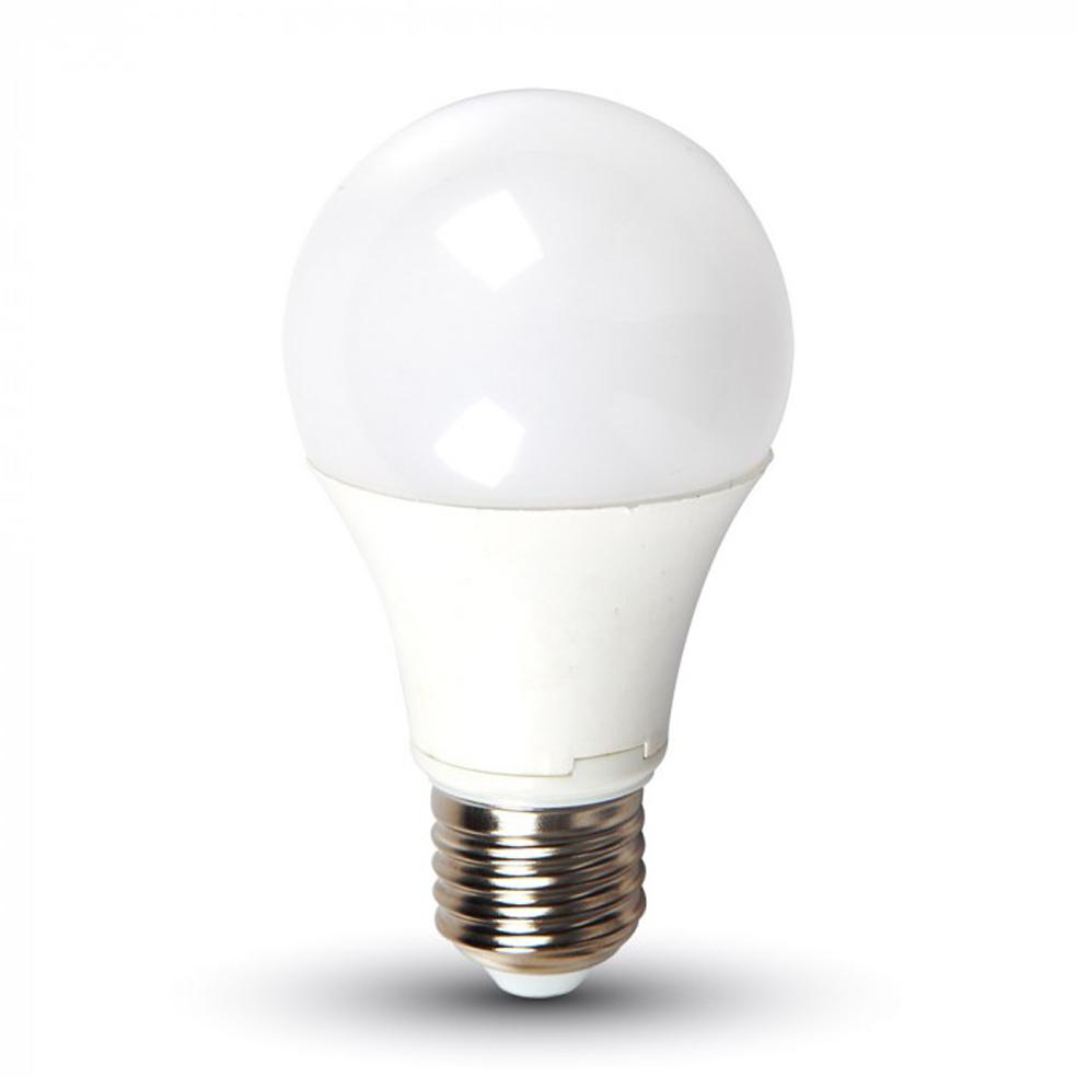 V-TAC - LED Крушка 9W E27 Термо Пластик Неутрално Бяла Светлина SKU: 7261 VT-2099, 2700K 7260, 6400K 7262
