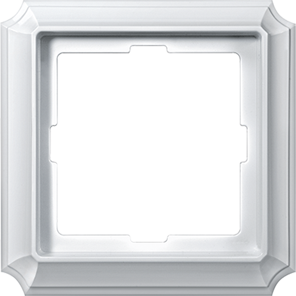 SCHNEIDER ELECTRIC - MTN483119 Antique frame, 1-gang, polar white