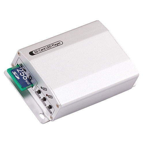 ULTRALUX - SDC1 Контролер за дигитални светодиодни модули и ленти, SD-карта, 1 порт
