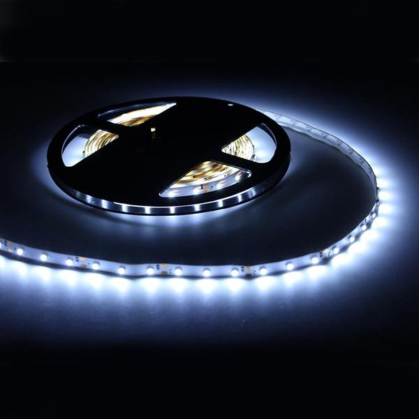 ULTRALUX - LSNW352860W LED ЛЕНТА SMD3528, 4.8W/M БЯЛА, 12V DC, 60 LEDS/M, 5M, НЕВОДОУСТОЙЧИВА (1)