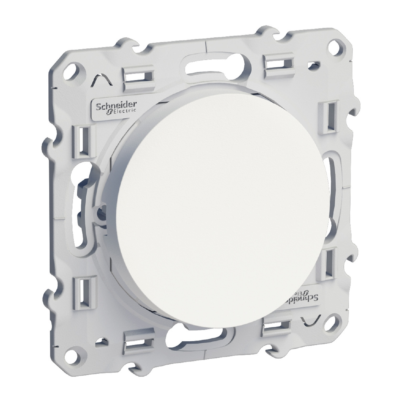 SCHNEIDER ELECTRIC - S520201 Мех. ключ еднополюсен Odace, 10А 250V, бял