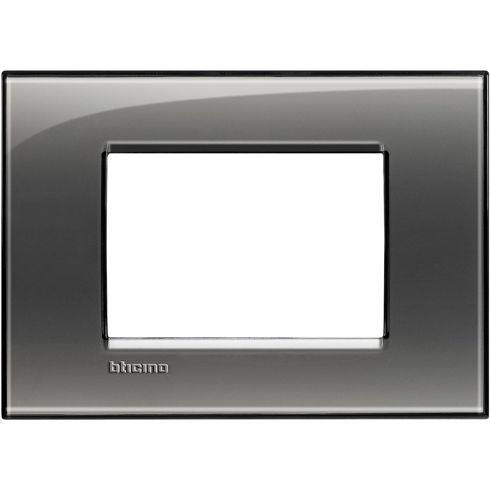BTICINO - LNA4803KF Рамка 3М London fog правоъгълна Livinglight