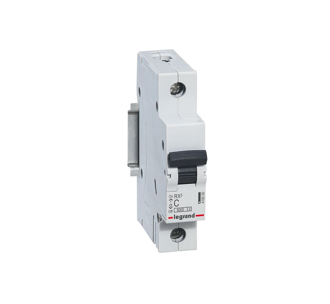 LEGRAND - Автоматичен прекъсвач RX3 1P 50A 6kA Legrand