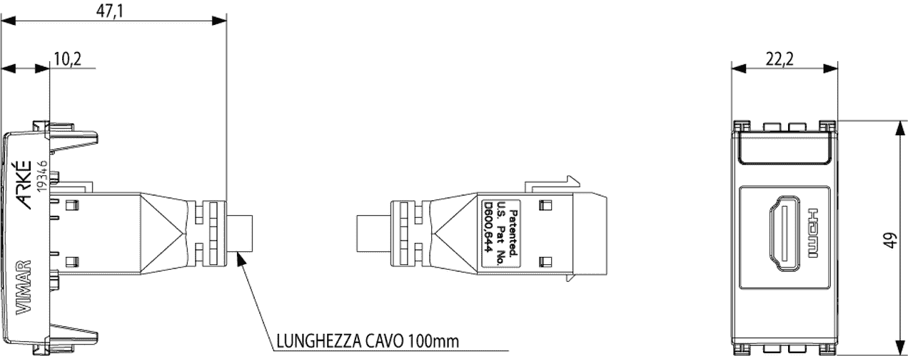 vimar - 19346 b