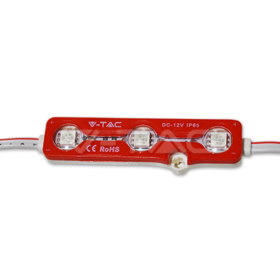 V-TAC -  LED Модул 3LED SMD5050 червен IP65 SKU: 5117 VT-50503