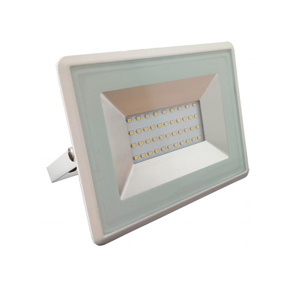 V-TAC - 30W LED Прожектор E-Series Бяло Тяло 3000K SKU: 5955 VT-4031 , 4000K-5956, 6000K-5957