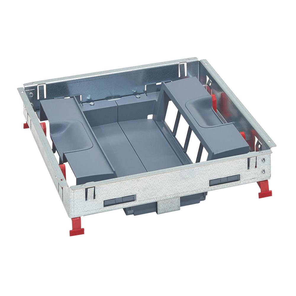 LEGRAND - Основа за подова кутия 16 (2х8) модула за вертикален монтаж на механизми 88025
