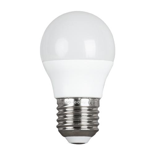 ULTRALUX - LBG32742 LED топка 3W, E27, 4200K, 220-240V, неутрална светлина, SMD2835