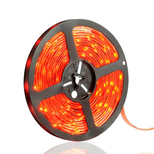 ULTRALUX - LSW352860R LED ЛЕНТА SMD3528, 4.8W/M ЧЕРВЕНА, 12V DC, 60 LEDS/M, 5M, ВОДОУСТОЙЧИВА IP65