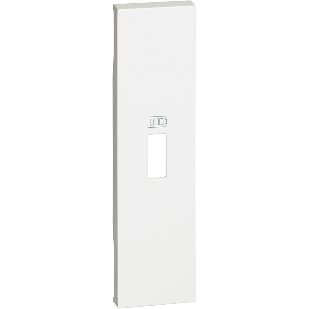 BTICINO - Лицев панел за USB розетка тип A или C 1 мод. цвят Бял Living Now Bticino KW10C