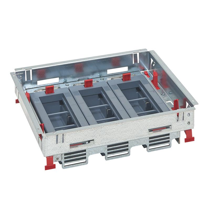 LEGRAND - Основа за подова кутия 18 (3х6) модула за хоризонтален монтаж на механизми 88021