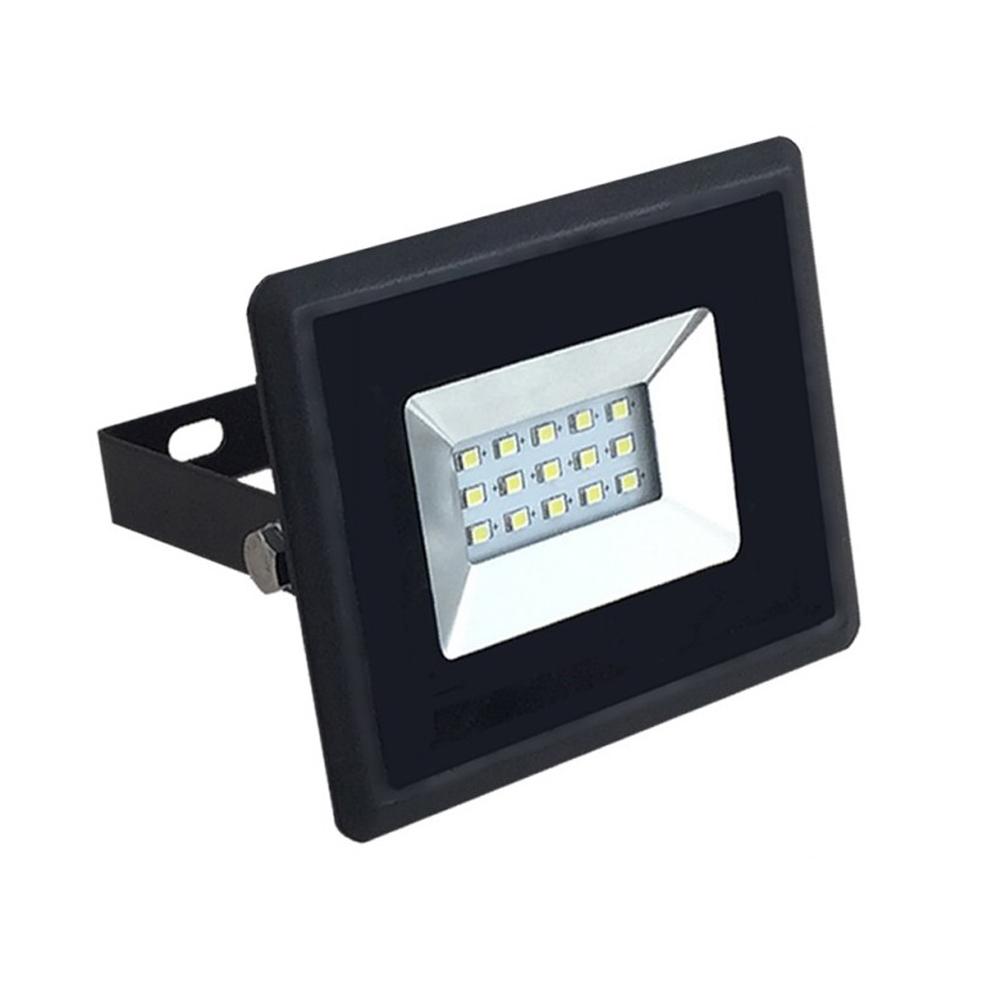 V-TAC -  10W LED Прожектор E-Series Черно тяло 3000K SKU: 5940 VT-4011 , 4000K-5941, 6000K-5942