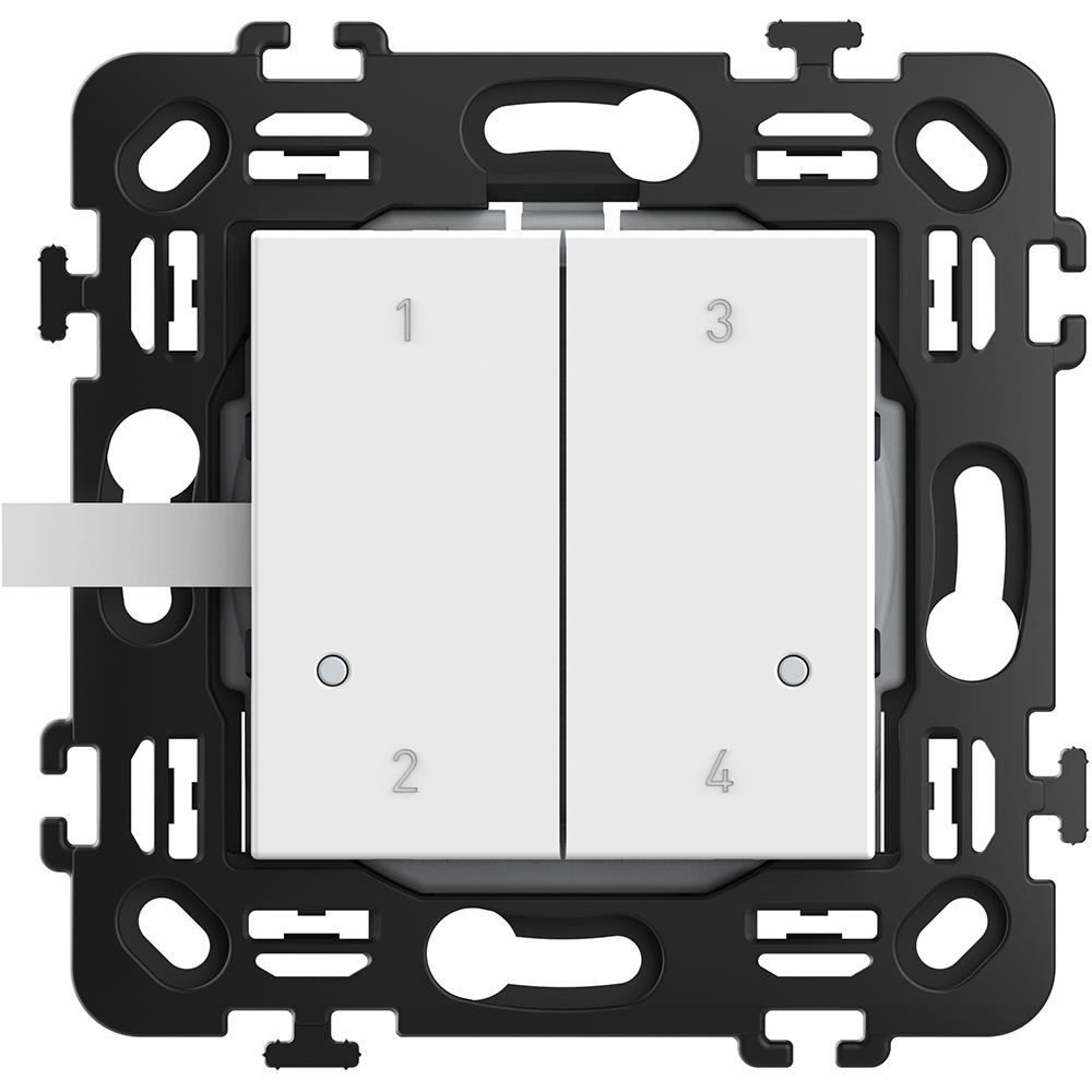 BTICINO - RW4575CW Wireless 4 scenarios control