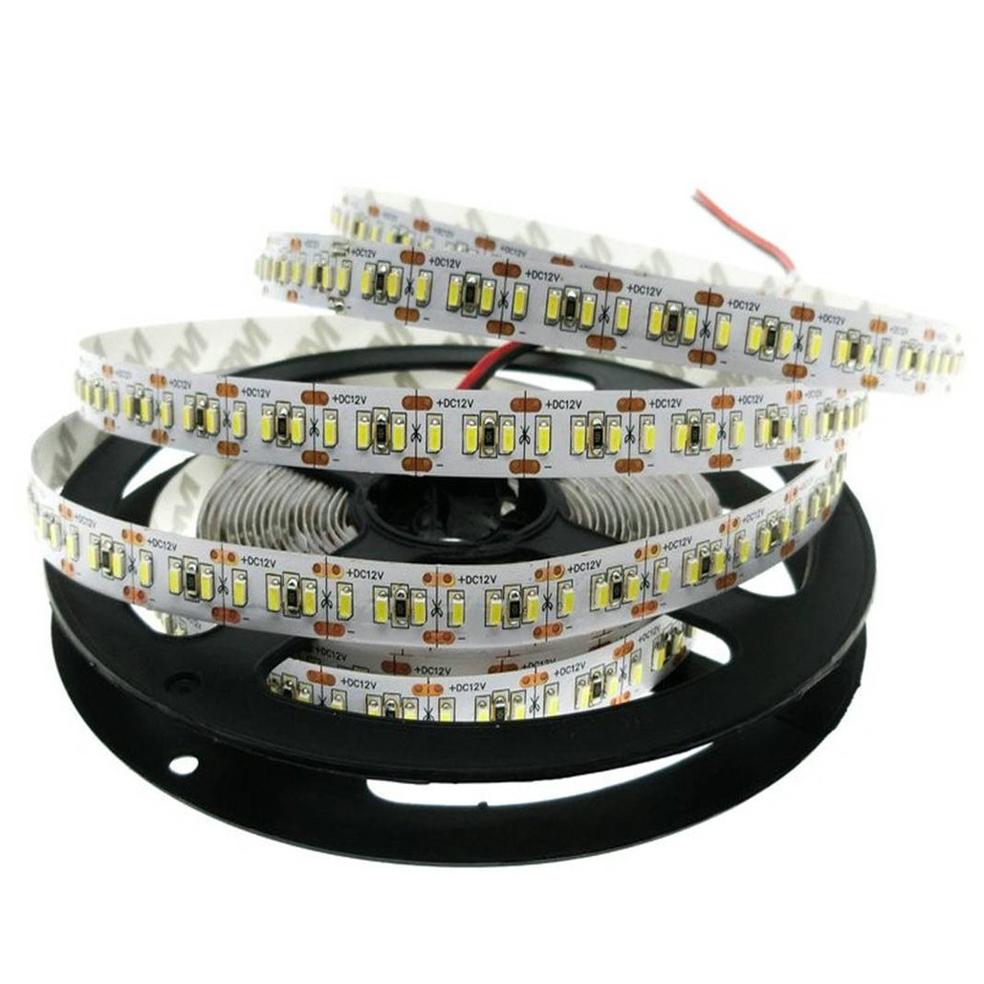 ULTRALUX - LNW3014120W LED лента SMD 3014, 14.4W/m бяла, 12V DC, 120 LEDs/m, 5m, неводоустойчива
