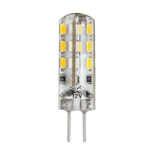 ULTRALUX - LPS12G4227 LED ЛАМПА 2W, G4, 2700K, 12V DC, ТОПЛА СВЕТЛИНА– 2 БР./БЛИСТЕР