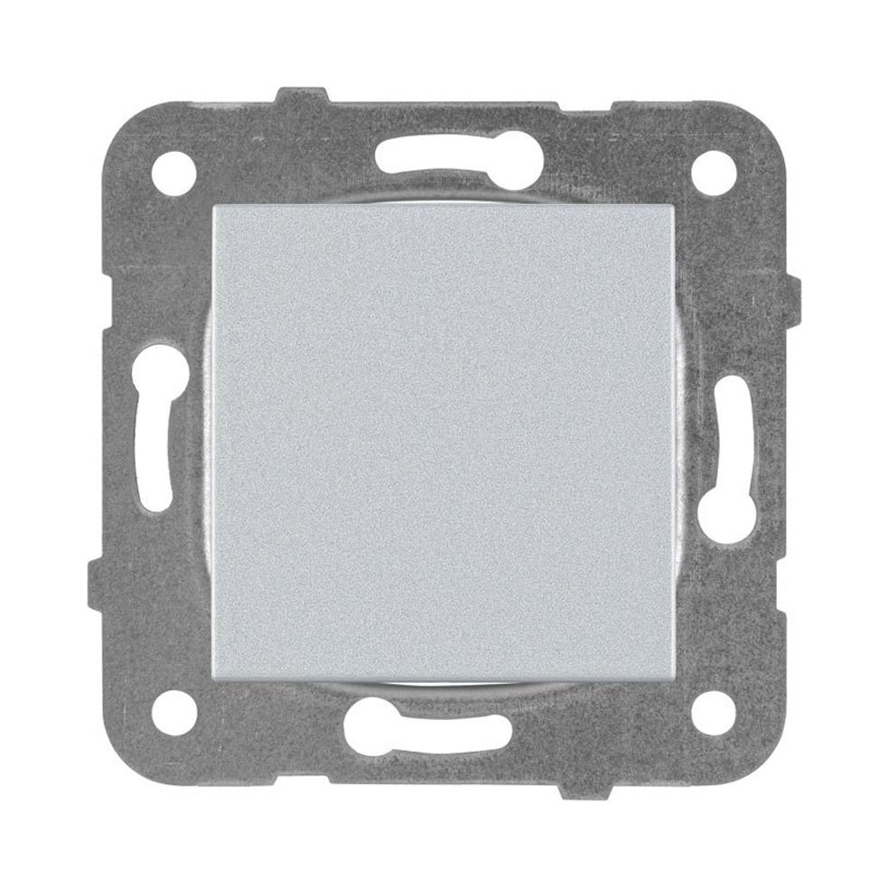 PANASONIC - Ключ единичен Panasonic Kare сив WKTT00012SL‐EU1