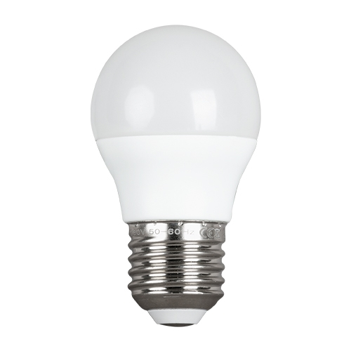 ULTRALUX - LBN52727 LED топка 5W, E27, 2700K, 220V, топла светлина, SMD 2835