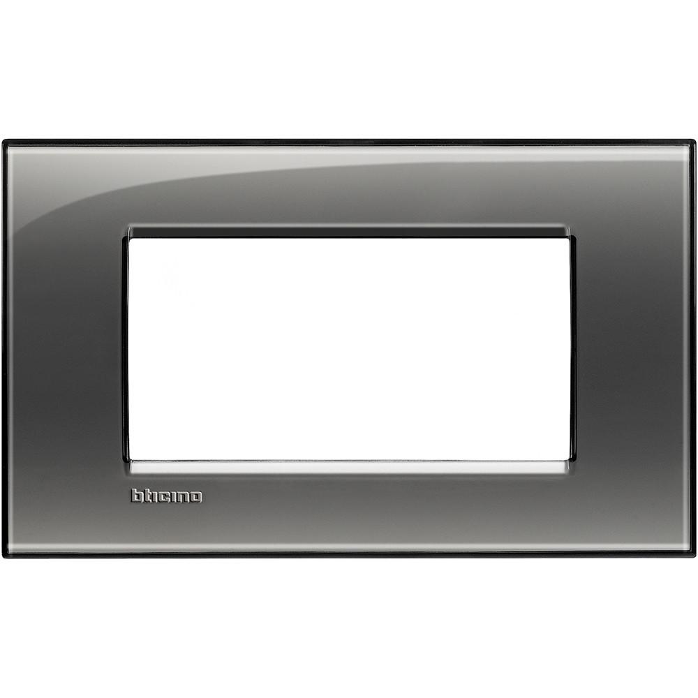 BTICINO - LNA4804KF Рамка 4М London fog правоъгълна Livinglight