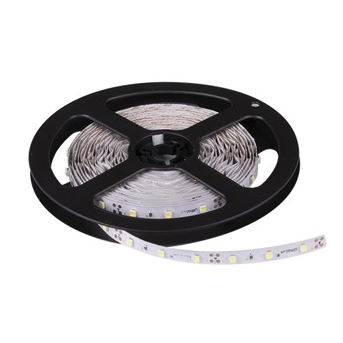 ULTRALUX - LSNW352860NW LED лента SMD3528, 4.8W/m неутрално бяла, 12V DC, 60 LEDs/m, 5m, неводоусточива