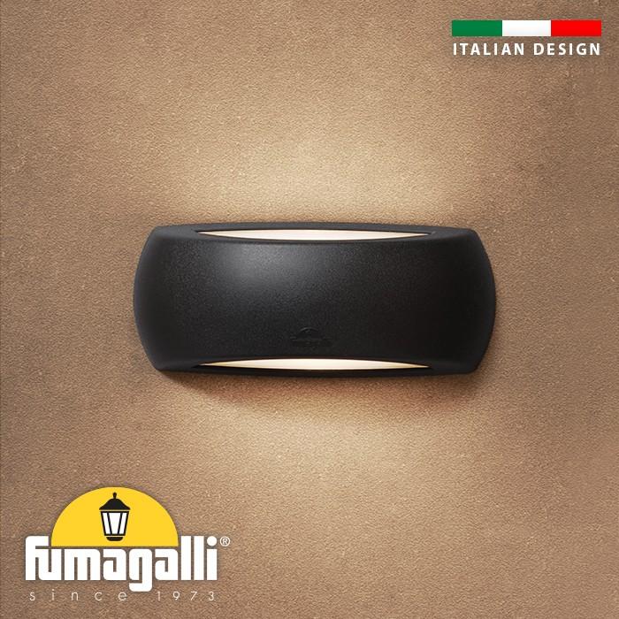FUMAGALLI - Фасаден аплик 1A1.000.AYE27 FRANCY BLACK