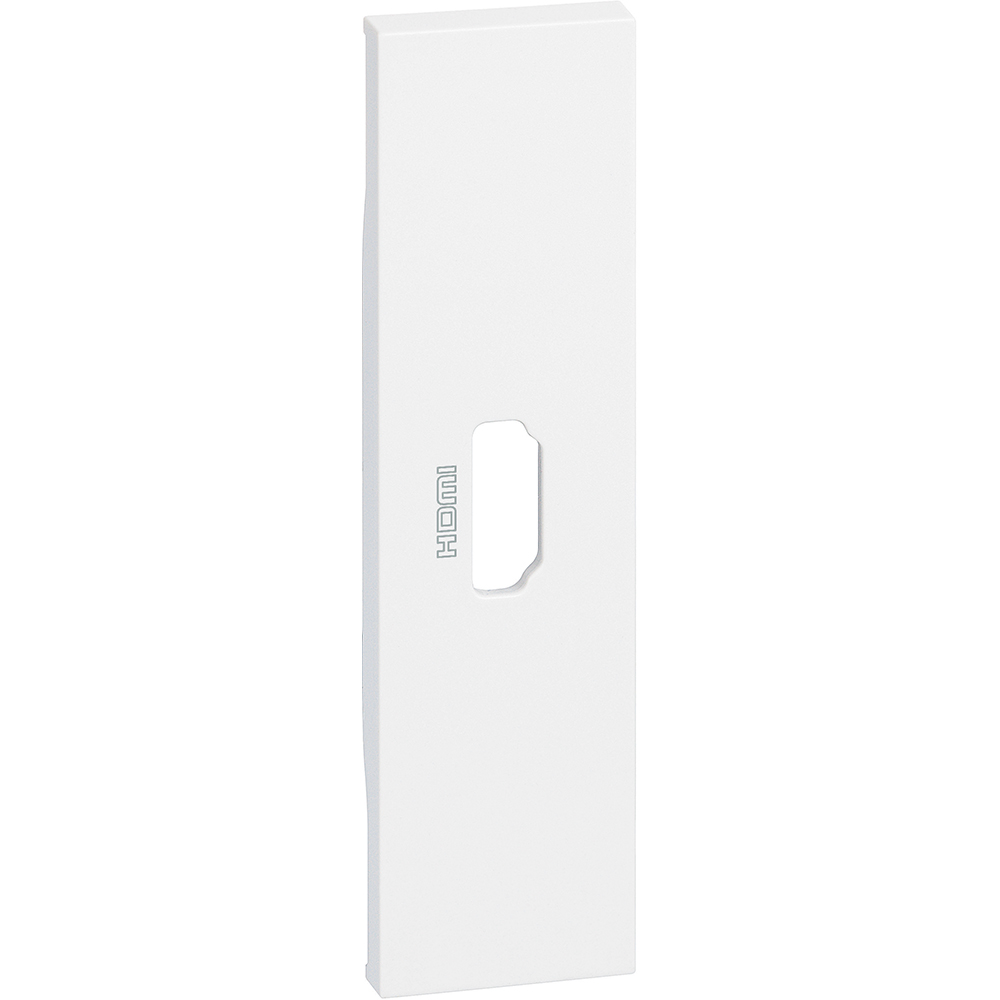 BTICINO - Лицев панел за HDMI розетка 1 мод. цвят бял Living Now Bticino KW14