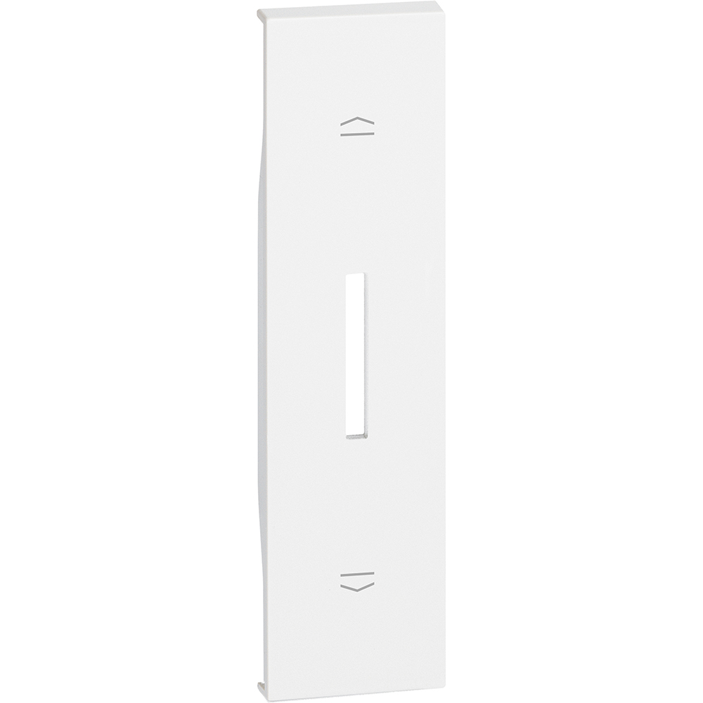 BTICINO - Лицев панел за ключ за щори 1 мод. цвят Бял Living Now Bticino KW06