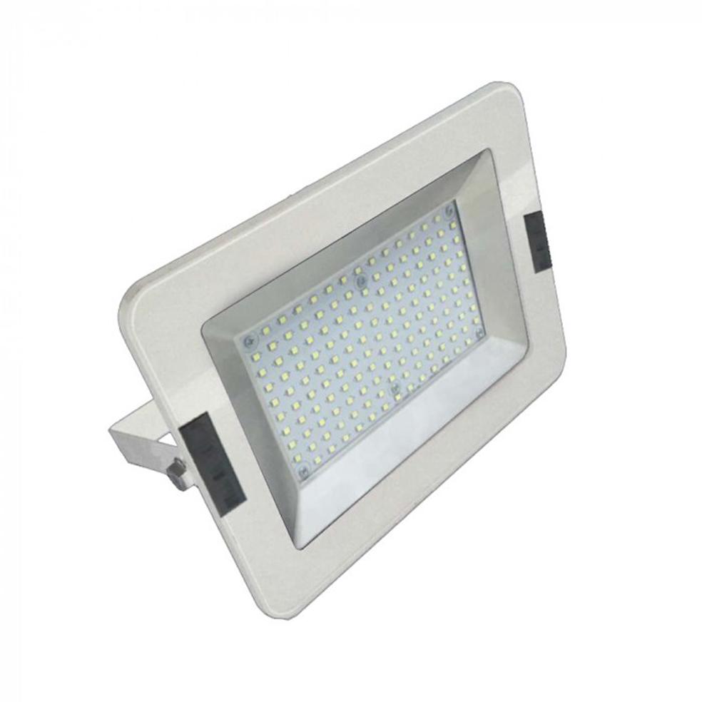 V-TAC - 50W LED Прожектор SMD Бяло Тяло 3000K SKU: 5904 VT-4651, 4500K-5905, 6000K-5906