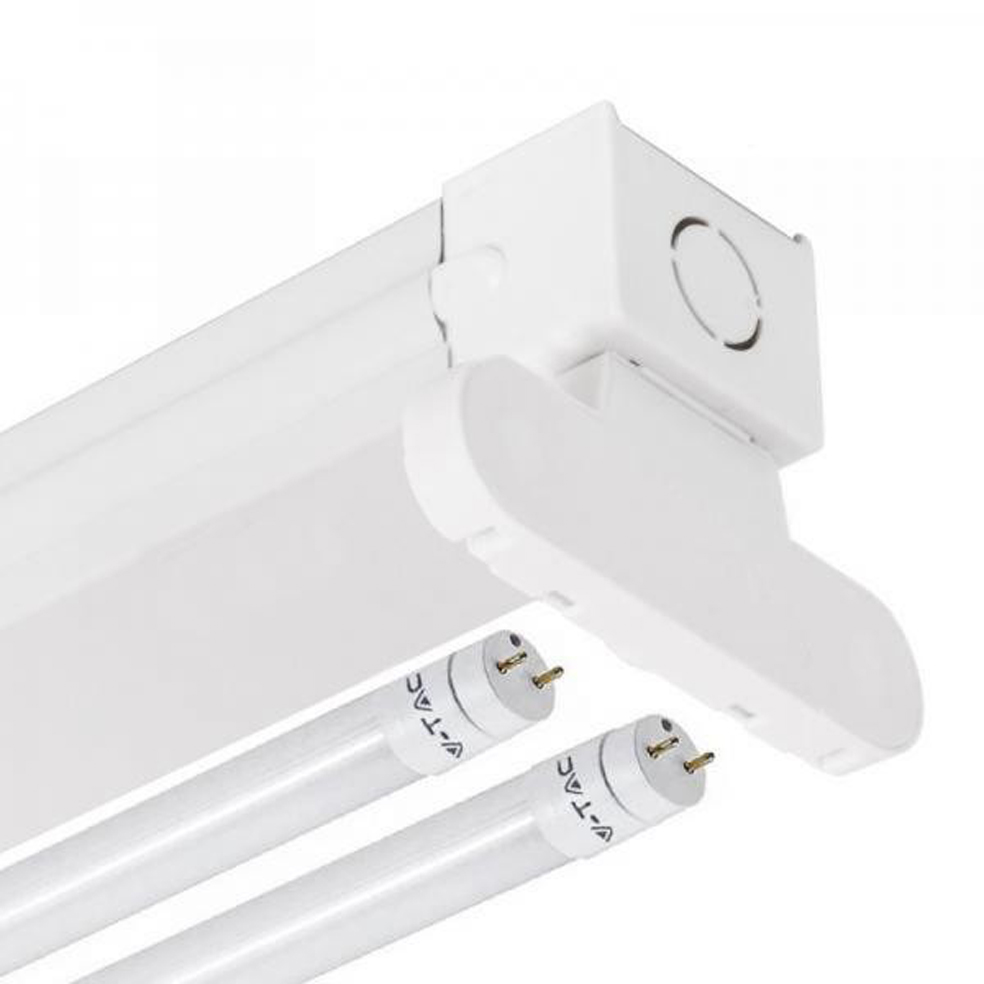 V-TAC - Шина за led пура 2x120cm SKU: 6055 VT-12021