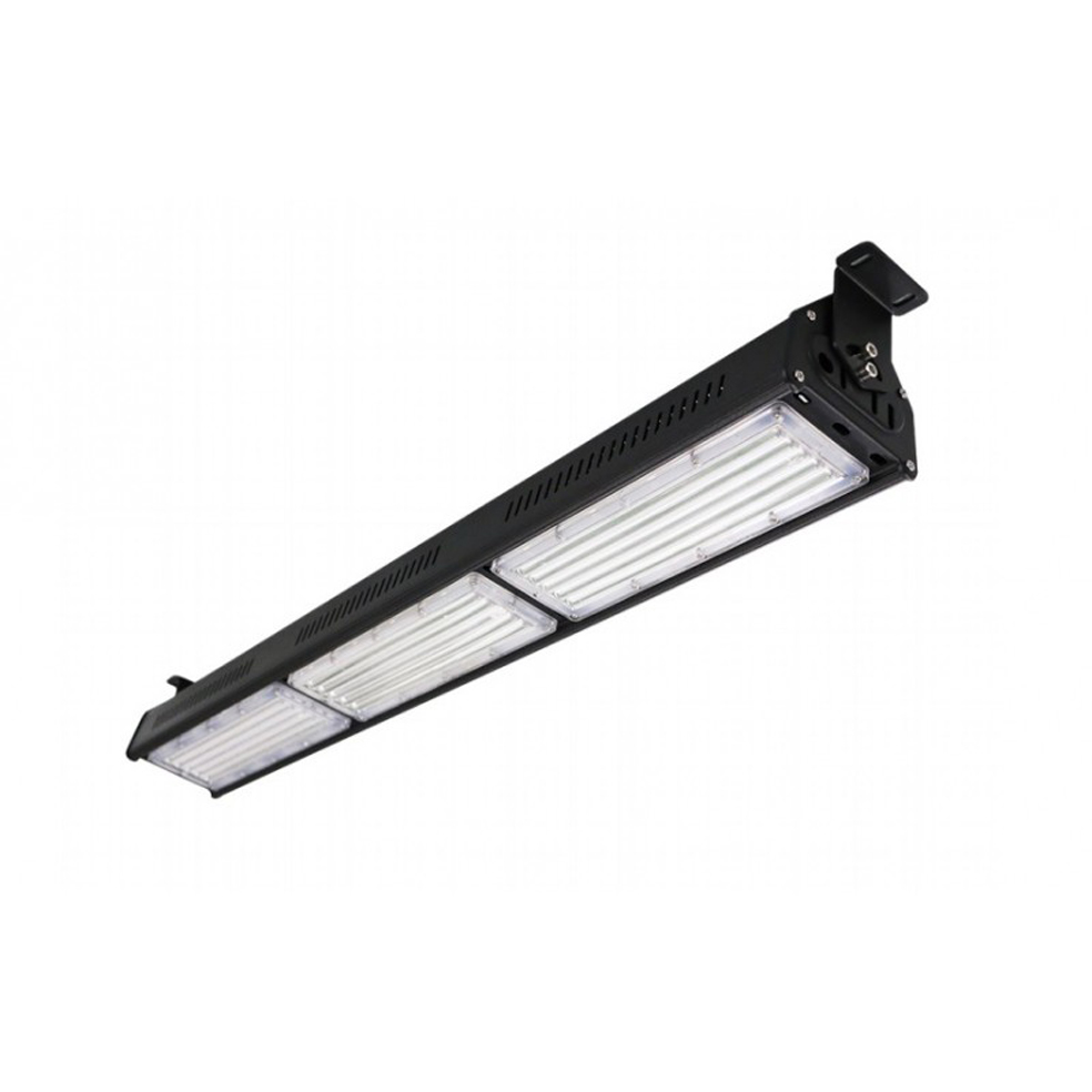 150w Linear Led Light Fixture: 150W LED Linear High Bay Black Body Natural White