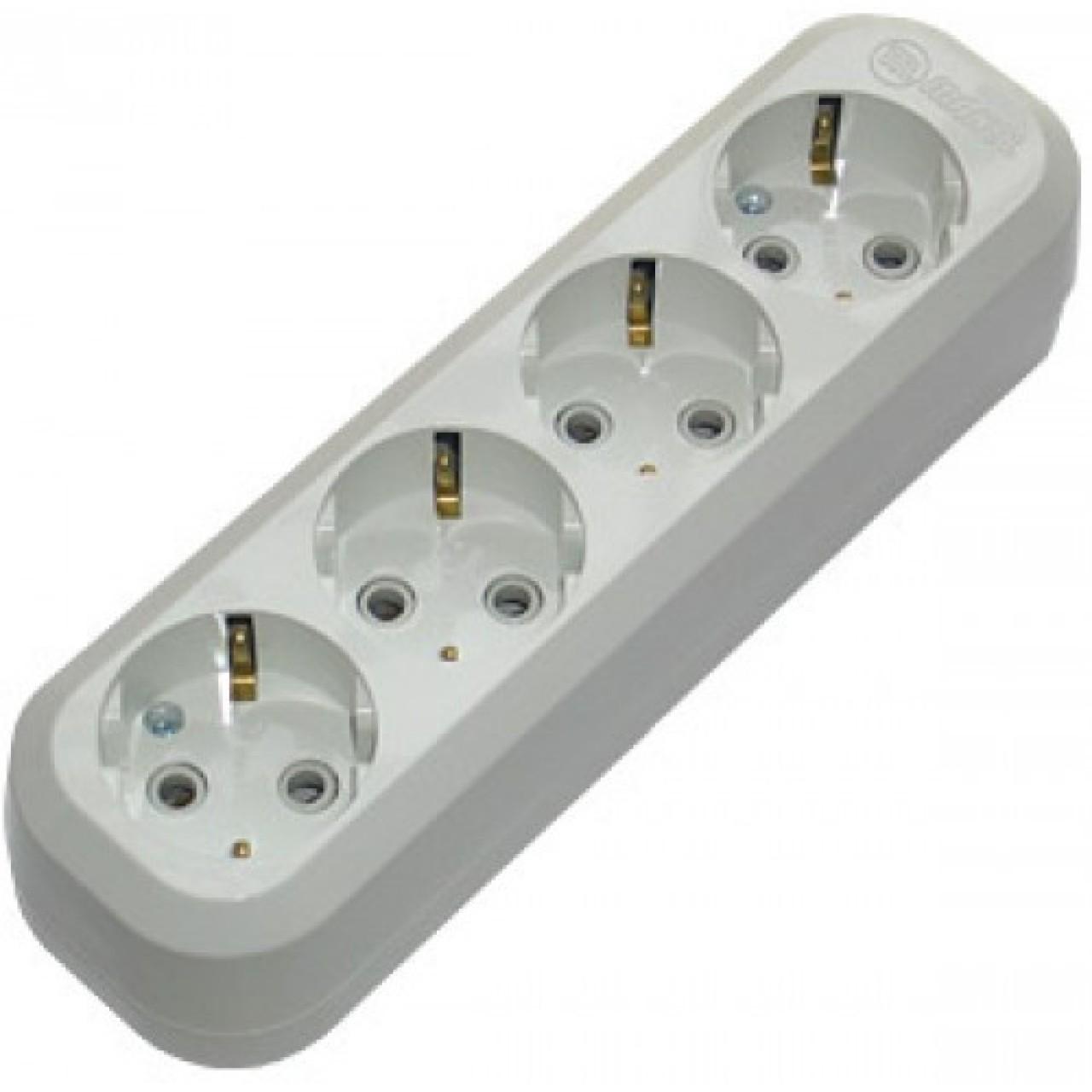 MAKEL - Основа за разклонител 4 гнезда без кабел MGP151
