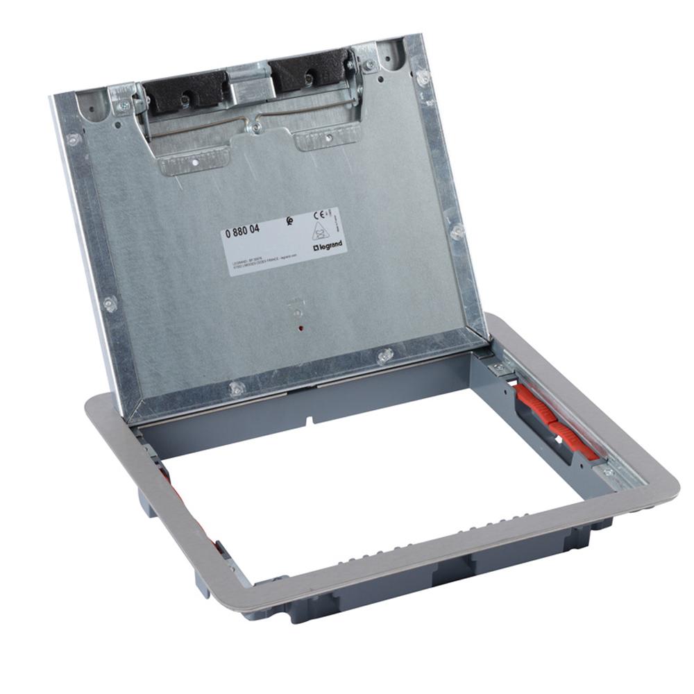 LEGRAND - Капак за подова кутия 12 мод. вертикален, 18 мод. хоризонтален монтаж метален 88004
