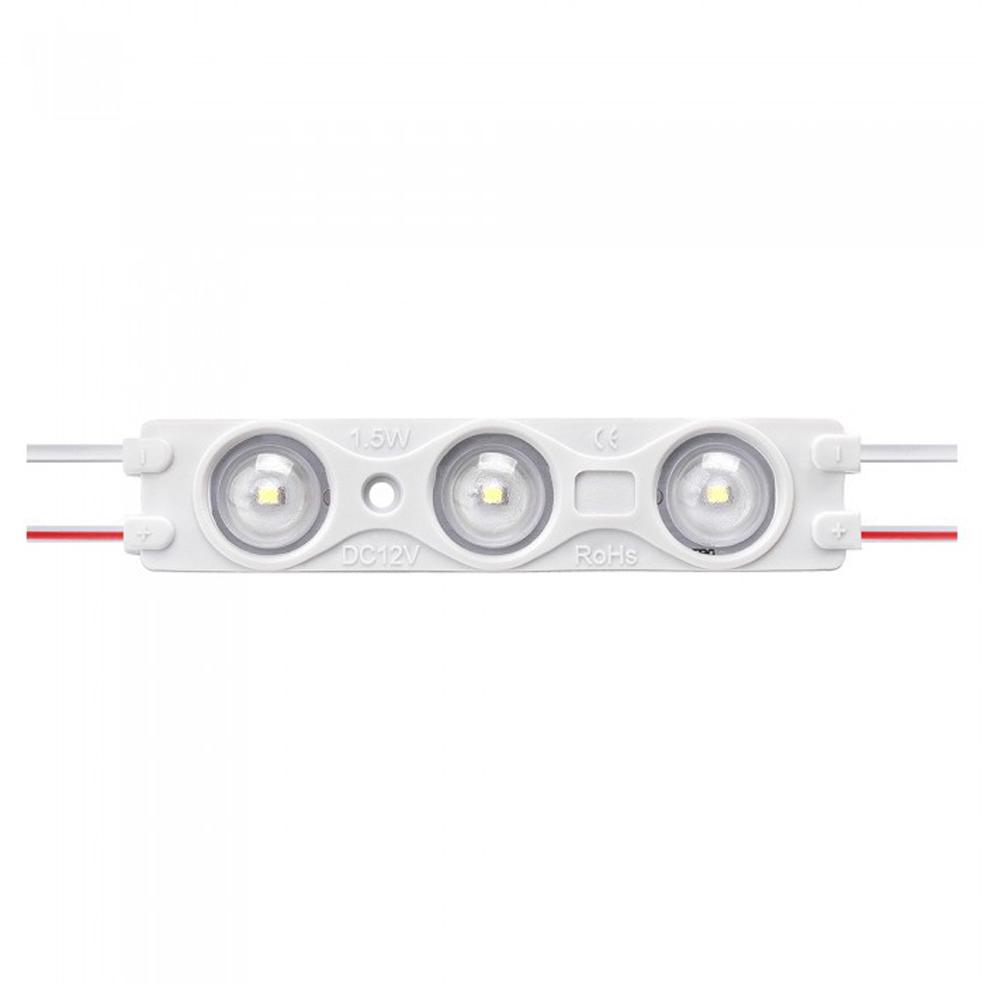 V-TAC - LED Модул 1.5W 3LED SMD2835 Топло Бяла Светлина IP67 SKU: 5124 VT-28356