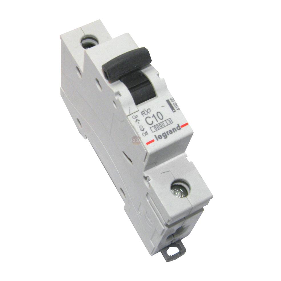 LEGRAND - Автоматичен прекъсвач RX3 1P 10A 6kA Legrand