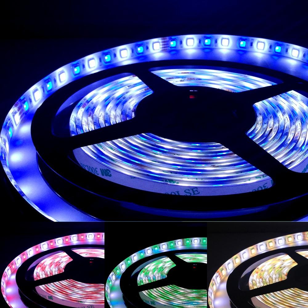 ULTRALUX - PN5084RGBW LED лента SMD5050, 20W/m, RGB+топло бяла, 24V DC, 84LEDs/m, 5m, неводоустойчива